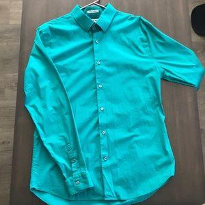 Express Extra Slim Fit 1MX Dress Shirt